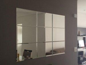 Espelho Bisotado Conjunto Decorativo