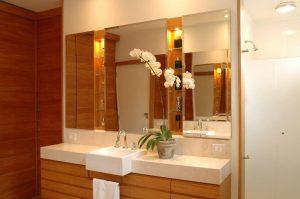 Espelho Bisotado Quadradado Decorativo