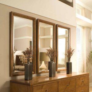 Espelho Decorativo Conjunto com Moldura
